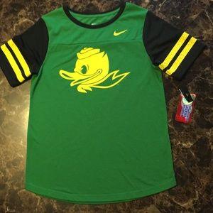 UO NIKE 💚💛 Oregon Ducks 💛💚 T-Shirt - Medium